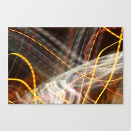 Flutter of Light Canvas Print
