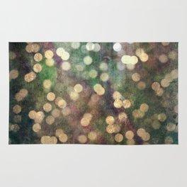 Magical Lights Gold Dots Rug
