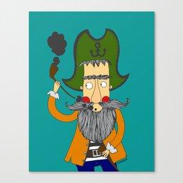 All Hands Ahoy!! Arrrrrr!! Canvas Print
