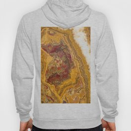 Marble Gold / Yellow Agate Onyx Hoody