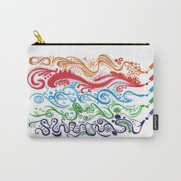 Thoughts in Color Carry-All Pouch