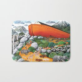 A New Beginning (Noah's Ark) Bath Mat