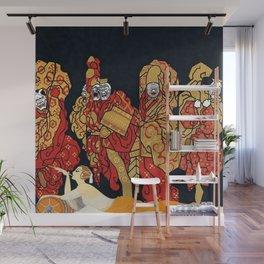 """Art Deco Design """"Mah-Jongg"""" Wall Mural"""
