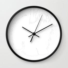Havanese-tshirt,-just-freaking-love-my-Havanese Wall Clock