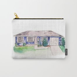 Custom House Painting Carry-All Pouch