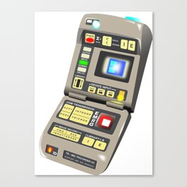 Tricorder Canvas Print