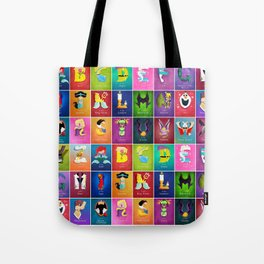 The Princess Alphabet Tote Bag