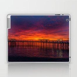Redondo Pier Sunset Laptop & iPad Skin