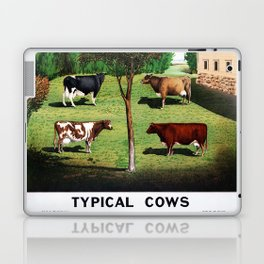 Typical Cows Laptop & iPad Skin