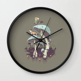 Elven Ranger Wall Clock