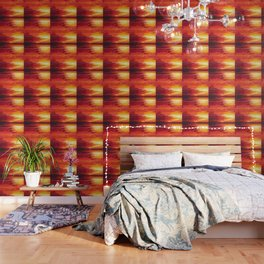 Abstract Sunset Wallpaper