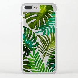 Tropical Dream || Clear iPhone Case