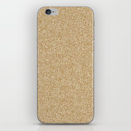 Melange - White and Golden Brown iPhone Skin