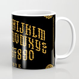 Calligraphy Spirit Board Coffee Mug