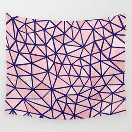 Broken Blush Wall Tapestry