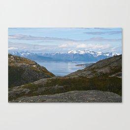 Kvaenangsfjord, Norway 2 Canvas Print