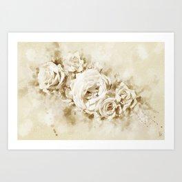 flowers12 Art Print