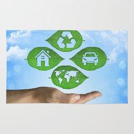 recycling eco concept Rug