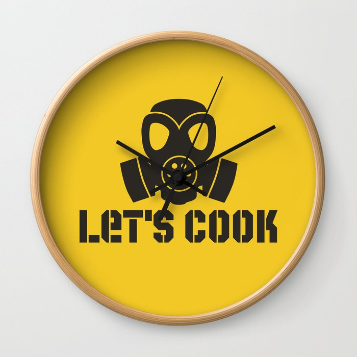 Lets Cook Breaking Bad Wall Clock