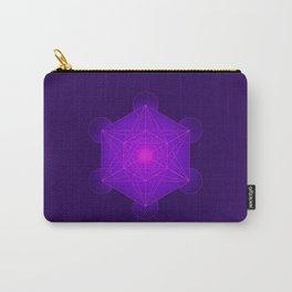 Metatron | Cube | Secret Geometry | Platonic | Matrix | Protects children Carry-All Pouch