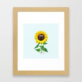 Slothflower Framed Art Print