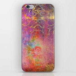 Boho Rose iPhone Skin