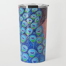 Peacock - Colour Me Happier Travel Mug