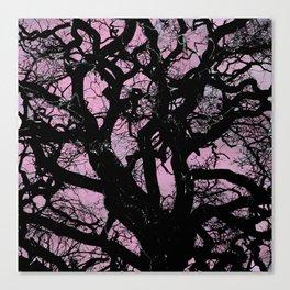 DUSKY TREE Canvas Print