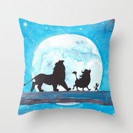 The Lion King Stencil Throw Pillow