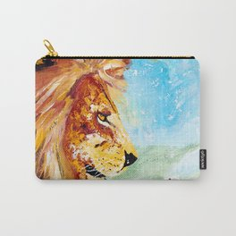 The Lion and the Rat - Animal - by LiliFlore Carry-All Pouch