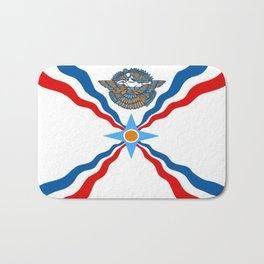 Assyrian Flag Bath Mat