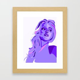 periwinkELLE2 Framed Art Print