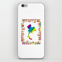 Rainbow Thailand iPhone Skin