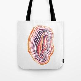 """Geode Series: """"Heatwave"""" Tote Bag"""