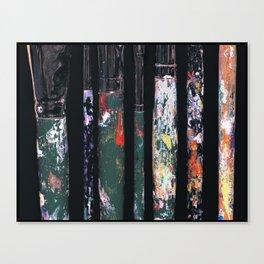 Artistic Brushes Canvas Print
