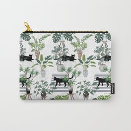 cats in the interior pattern Carry-All Pouch