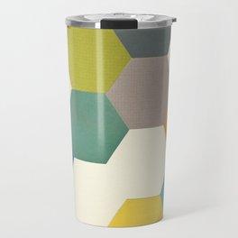 Honeycomb I Travel Mug