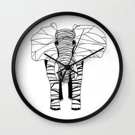 mr. elephant Wall Clock