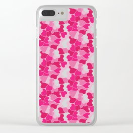 Camo harts Clear iPhone Case