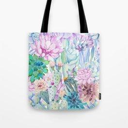 pastel votanical garden Tote Bag