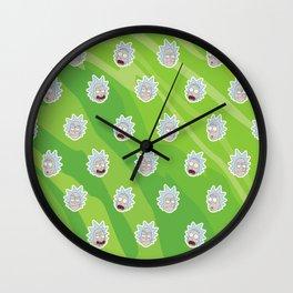 Infinite Ricks' Wall Clock