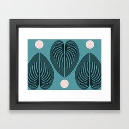 Hjärtblad Framed Art Print