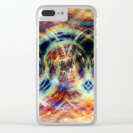 Burned Clear iPhone Case
