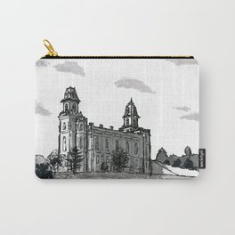 Manti Utah Temple Carry-All Pouch