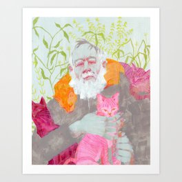 Edward Gorey Art Print