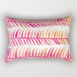 Pink Ombré Seaweed Rectangular Pillow