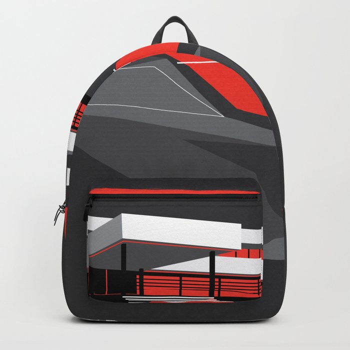 Red House Backpack