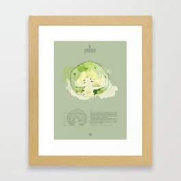 IL CAVOLO Framed Art Print
