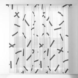 Confetti Sheer Curtain