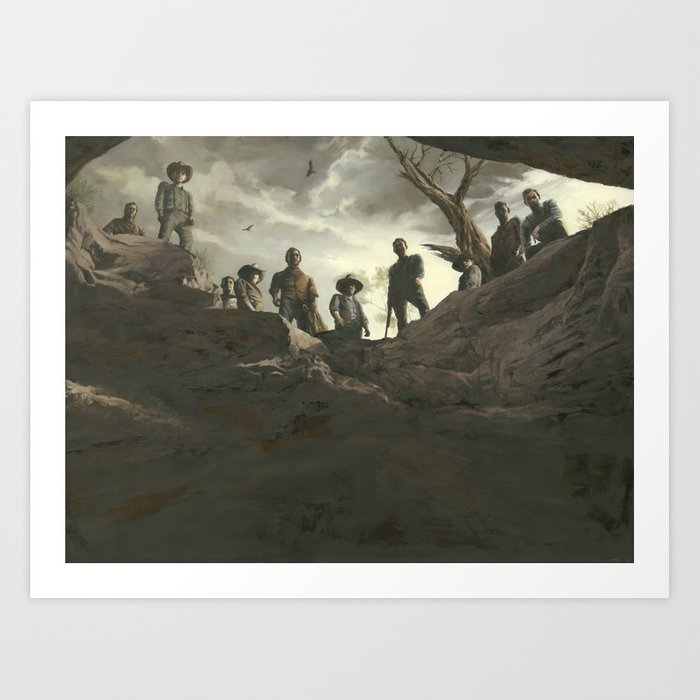 Pit of Redemption Art Print
